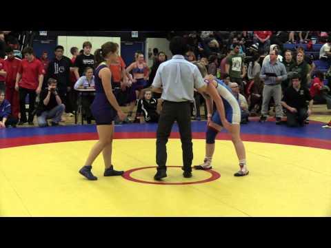 2014 Matmen Classic: 60 kg Amanda Savard vs. Taylor Cartwright