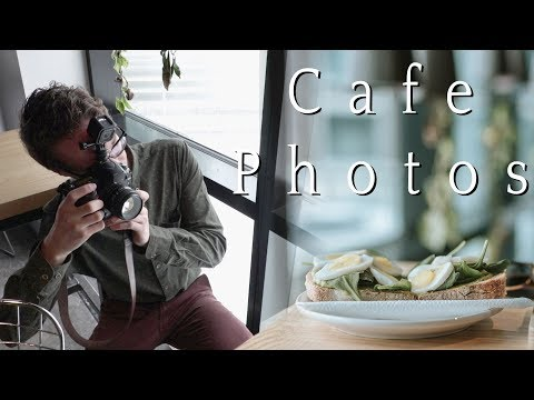 How to take better cafe photos for instagram (Coffee shop photography & natural lighting with Nikon)