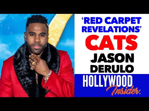 'red-carpet-revelations'-with-jason-derulo-on-'cats'-|-taylor-swift-|-hollywood-insider