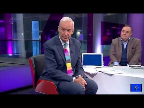 Alex Salmond flounders during interview about joining Russian propaganda network
