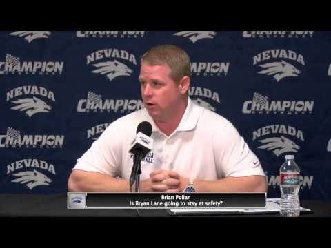 Nevada Football Weekly Press Conference - September 10, 2013