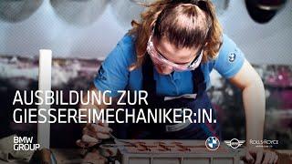 Ausbildung zum Gießereimechaniker (w/m/x) bei der BMW Group I BMW Group Careers.