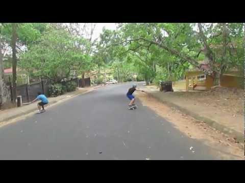 Longboard Panama Freeride - Episode 1 (Daily Sesh 4)
