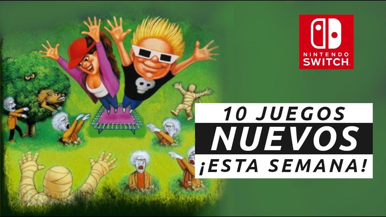 10 NUEVOS JUEGOS para Switch ¡TE ENCANTARÁN!