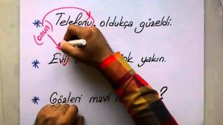 İyelik Eki / Hal Eki - TERLETEN İKİLİLER / ÖNDER HOCA