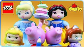 ♥ LEGO Duplo Disney Princess Compilation (Peppa Pig, Doc McStuffins, Sofia the First)