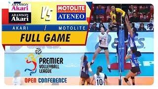 PVL OC 2018: Adamson-Akari vs. Ateneo-Motolite   Full Game   3rd Set   November 11, 2018