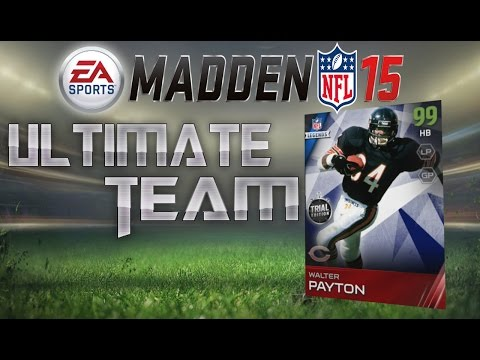 Madden 15 Ultimate Team - WIN or GO HOME! Walter Payton Gameplay & Review! MUT 15