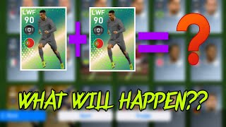 WHAT WILL HAPPEN WHEN YOU TRAIN WITH DUPLICATE FEATURED PLAYERS!!? / PES 19 MOBILE