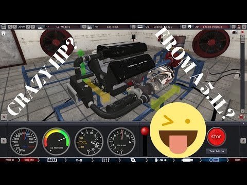 Automation The Car Company Tycoon Game|| CRAZY HP FROM A 5.1L V8 FLATHEAD! ||