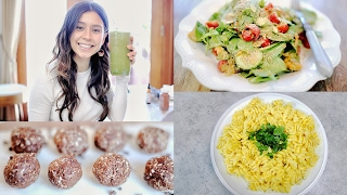 WHAT I EAT IN A DAY VEGAN + Recipes & Tips