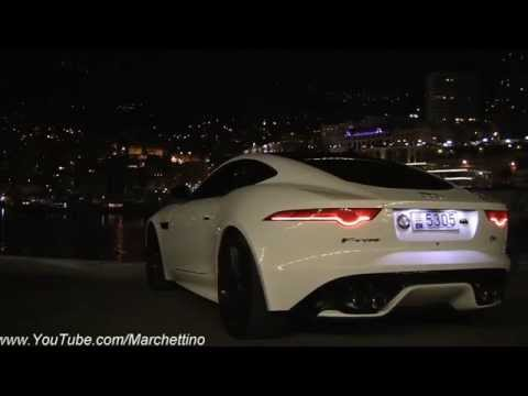 Insanely Loud Jaguar F-Type R In Action!