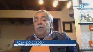 Contener la pandemia y reactivar la economía son objetivos complementarios: Rolando Cordera
