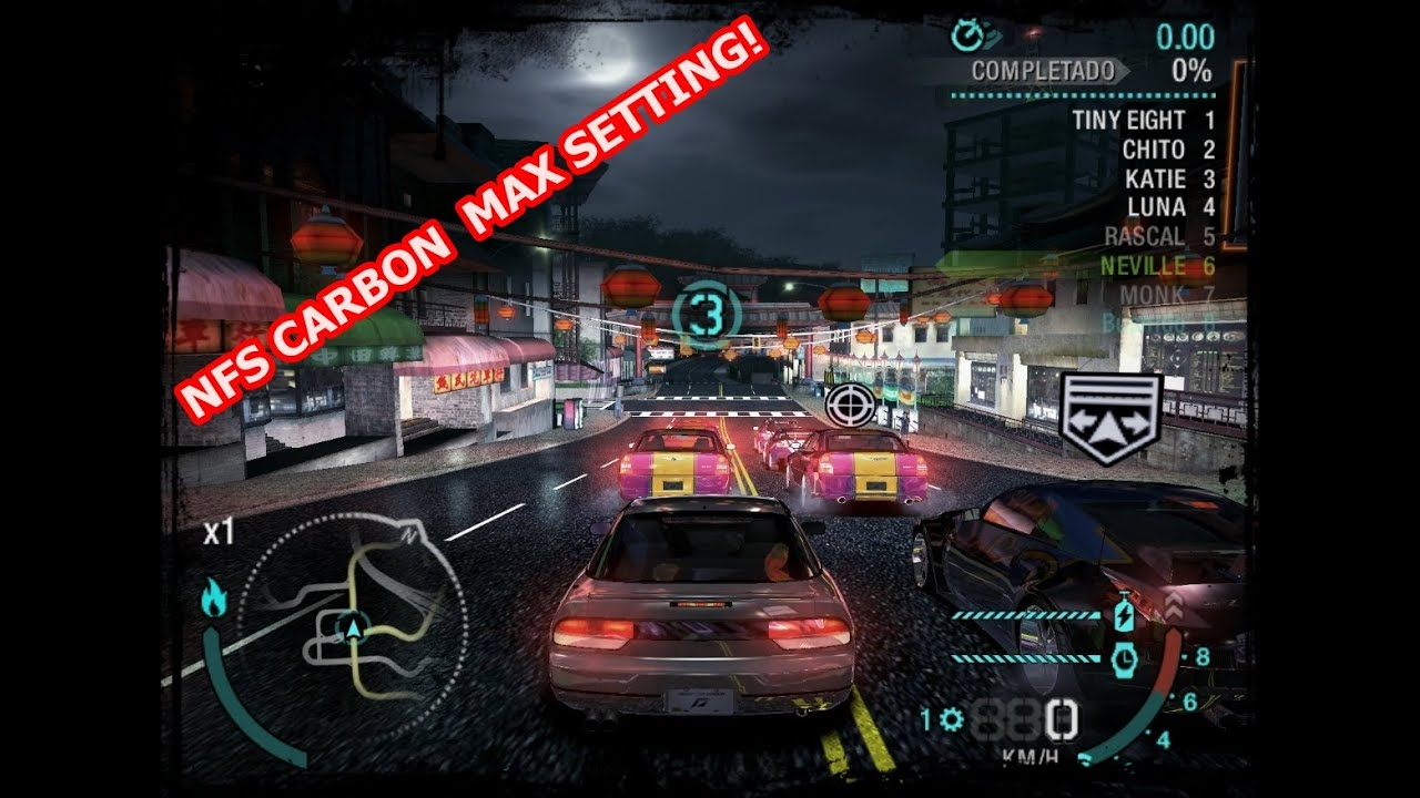 Need For Speed Carbon (Graphic test) on i7 [2016] by Bushiido444