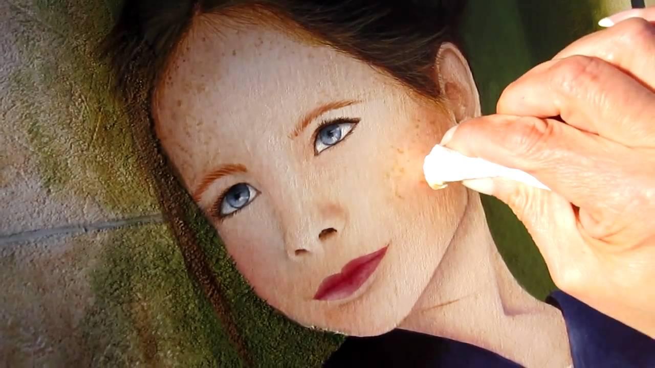 Top Comment peindre un visage d'enfant - YouTube JT01