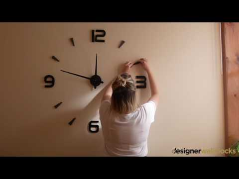 Assembly video | Designer Wall Clocks - designerwallclocks.co