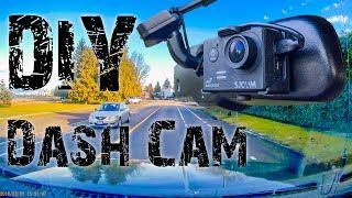 DIY Dash Camera using SJ5000 or SJ4000