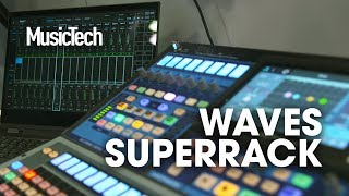 Waves kill the mouse for live plugins with SuperRack