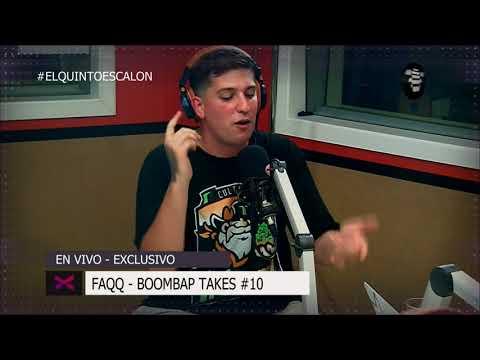 FAQQ - 'BOOMBAP TAKES #10' - El Quinto Escalon Radio (11/12/17)