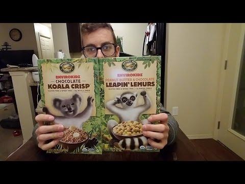 Product Review Chocolate Koala Crisps vs Peanut Butter Chocolate Leapin' Lemurs