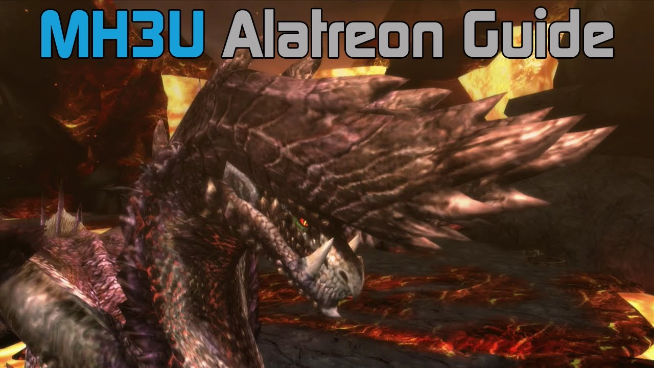 Mh3u Monster Hunter 3 Ultimate Alatreon Guide And Tutorial