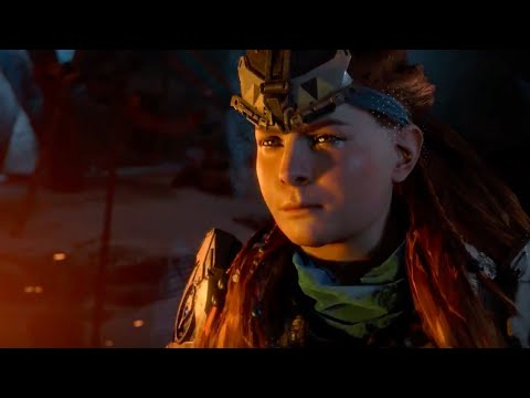 Horizon Zero Dawn Official The Frozen Wilds Release Date Trailer