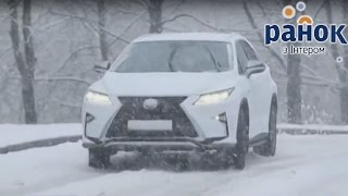 Тест-драйв автомобиля Lexus RX 200t - Утро с Интером