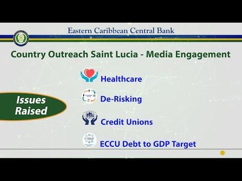 ECCB Connects Season 12 Episode 5 - Country Outreach Media Session, SLU