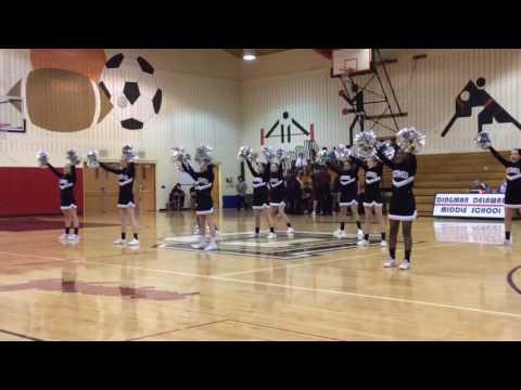 Dingman Delaware Middle School Cheerleaders