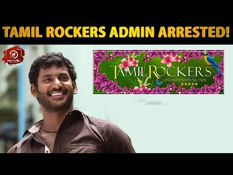 Tamil Rockers Admin Arrested!Vishal  Movie Pirates #2point0