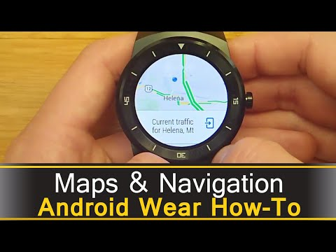 Maps And Navigation - Android Wear Demo