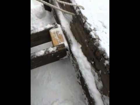DIY wood snowplow for ATV walkaround Part 1 of 2