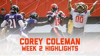Corey Coleman 1st Career 100-Yard Game!   Ravens vs. Browns   NFL Week 2 Player Highlights