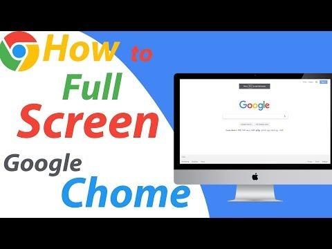 How To Enable Full Screen Mode on Google Chrome