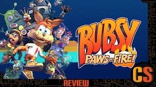 BUBSY: PAWS ON FIRE! - REVIEW (Video Game Video Review)
