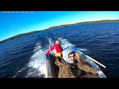 Wellboat-42 с 15 лс Nissan озеро Сайма