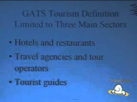 Forecasting Sustainable Tourism: Dale Honeck, WTO/OMC