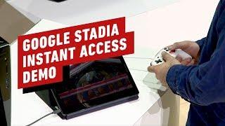 Google Stadia Instant Access Demo - GDC 2019 thumbnail
