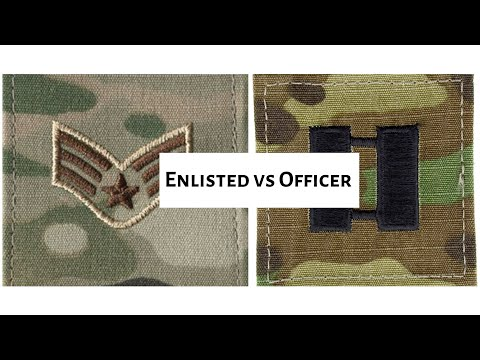 Should You Join The Air Force | Officer Vs Enlisted