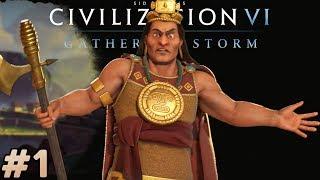 Let's Play Civ 6 Inca - Pachacuti [#1] - Civilization VI Gathering Storm