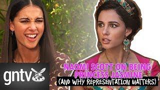 "Naomi Scott on representation in 'Aladdin': ""I'm getting very passionate here!"""