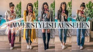 8 TIPPS um IMMER STYLISH auszusehen | So sieht dein Outfit immer gut aus!