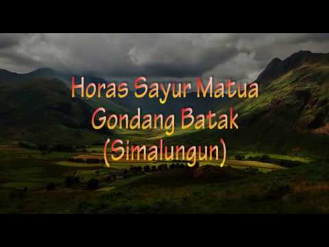 Gondang Simalungun | Horas Sayur Matua
