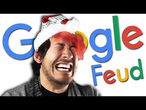 LAUGHING MY JINGLE BELLS OFF | Google Feud #3