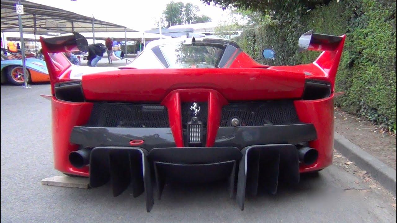 Ferrari Fxxk Insane Exhaust Sound Youtube