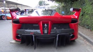 ferrari fxxk insane exhaust sound