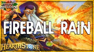 HEARTHSTONE 🌟 FIREBALL RAIN | QUEST EXODIA MIRACLE MAGE Deck Tech | Ungoro Furo Legend