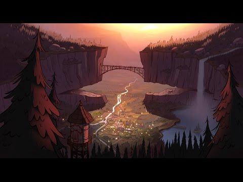 Gravity falls sunset background animation youtube - Gravity movie 4k ...