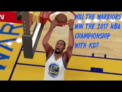 Will the Warriors Win the 2017 NBA Championship With Kevin Durant?