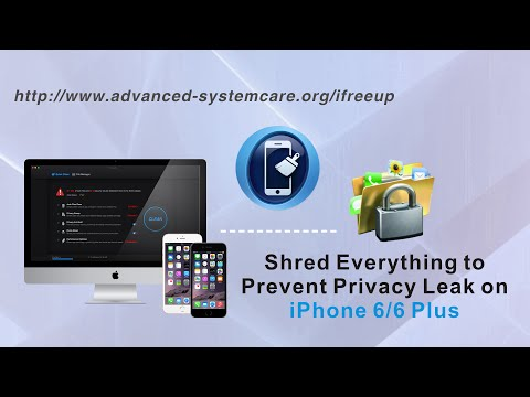 [iFreeUp]: How to Shred/Delete Everything to Prevent Privacy Leak on iPhone 6S Plus/6 Plus